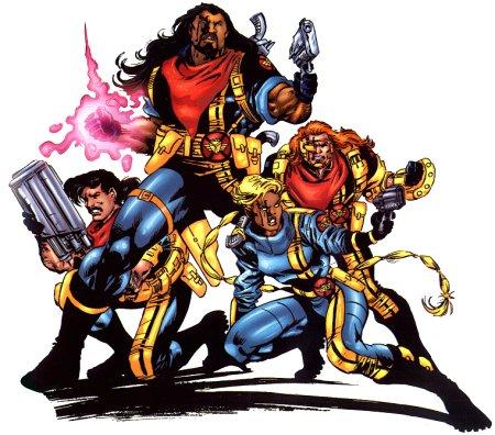 X-Men Spinoffs - Bishop