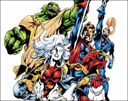 X-Men Spinoffs - Starjammers
