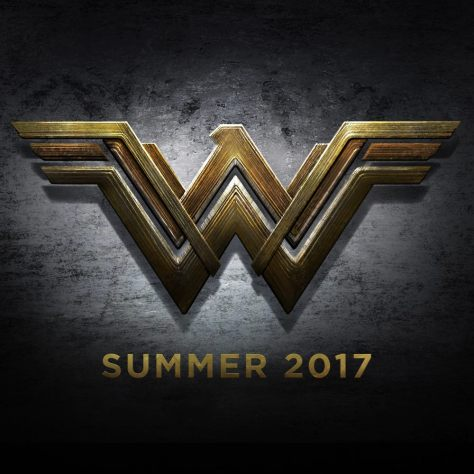 Official Wonder Woman movie logo