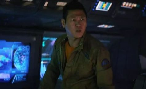 Benedict Wong in Prometheus