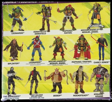 TMNT2 Toy catalogue