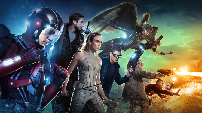 Legends Of Tomorrow Travels Through Comic History