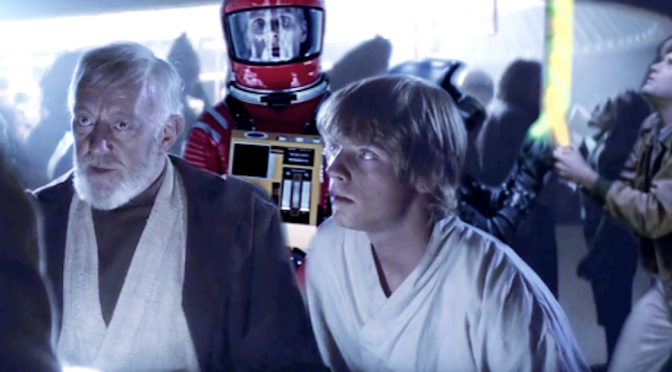 Watch Sci-Fi's Finest Share A Drink Or Two In This Star Wars Mash Up Video