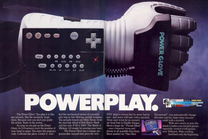 Nintendo Power Glove Returning For The Playstation?