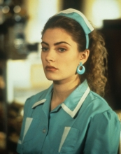 Mädchen Amick as Shelly in Twin Peaks