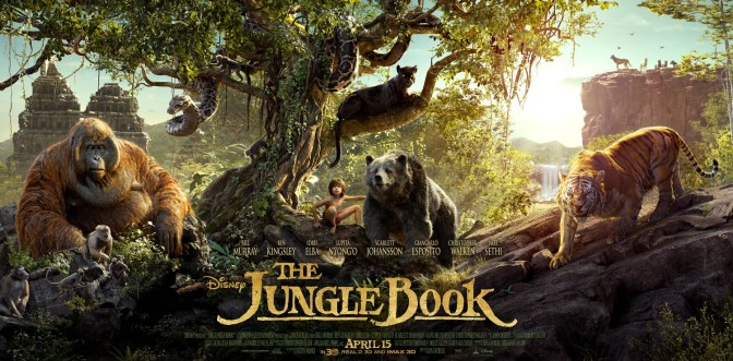 The Jungle Book: New TV Spot & Cast Photos Showcase Amazing Visual Splendor