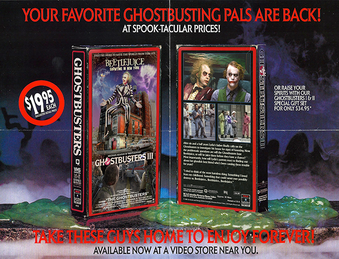 VHS Vault: Sleeve Mash-Ups and Movie Cover Make Overs
