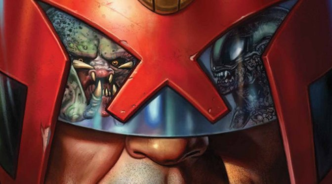 Alien, Predator and Judge Dredd Meet! Comic Titans Do Battle In New Series