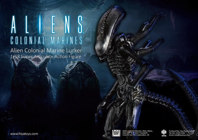 Hiya Toys Release Awesomely Designed 1:18 Scaled Alien Figures