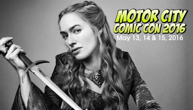27th Annual Motor City Comic Con This Weekend!