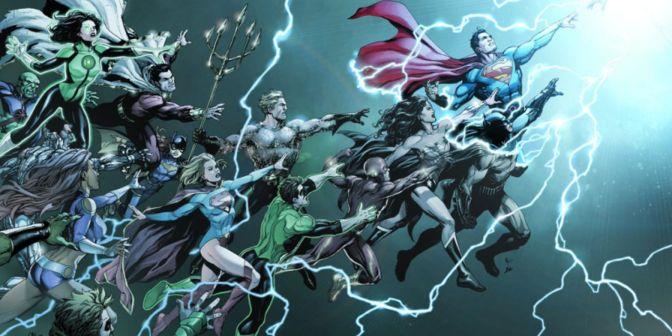 DC Universe: Rebirth #1 Preview — Take My Money