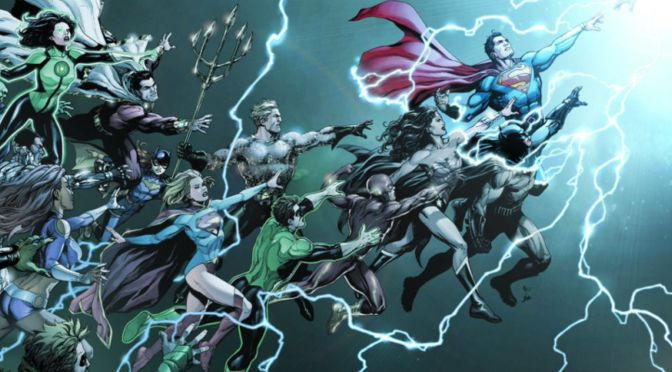 DC Universe: Rebirth #1 Preview — Take My Money