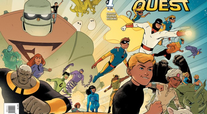 Get Excited About the Future: Early Future Quest #1 Review