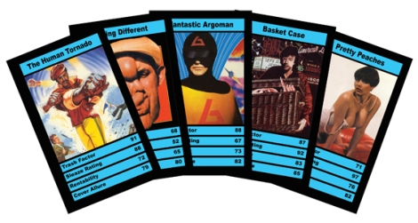 Homemade Horror Round Up vhs top trumps