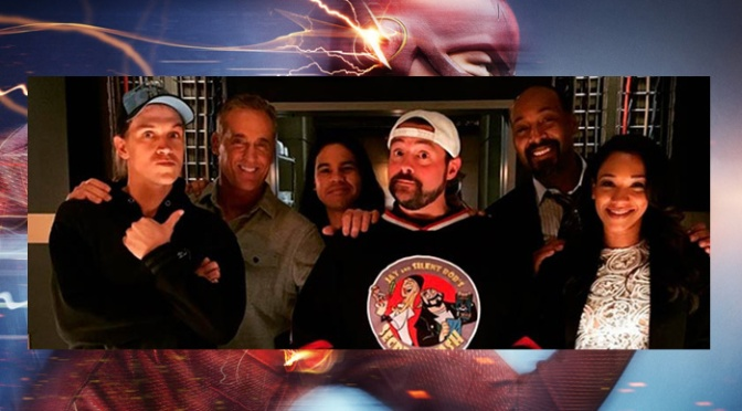 Kevin Smith, Jason Mewes Invade Central City For The Flash Finale