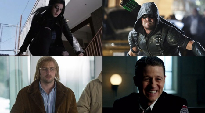 (Another) Previously On: Clayface, Invisible Guns, and Team Arrow