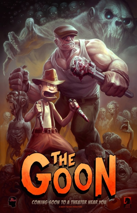 the goon poster