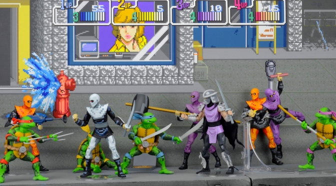 Cowabunga! New Arcade Designed TMNT Figures Debut at SDCC 2016