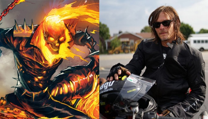 Norman Reedus Interested In Playing Ghost Rider