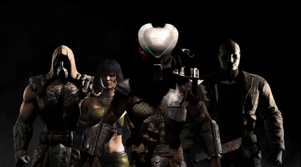 mortal kombat horror characters lead in