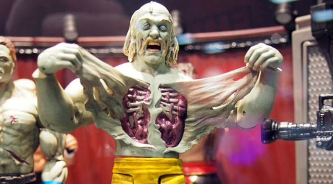 Shock Master, Zombies, and More! Awesomely Odd WWE Wrestling Figures