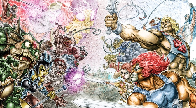 He-Man, ThunderCats Team for After-Prime, After-School Special in New DC Comic