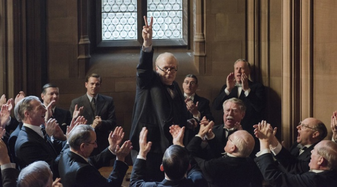 Darkest Hour Trailer: Gary Oldman IS Winston Churchill
