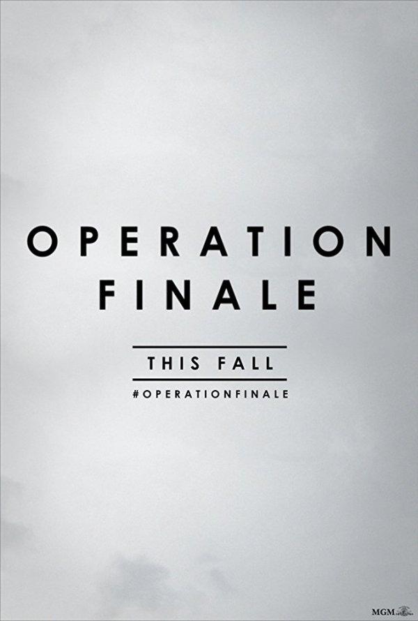 Operation Finale teaser poster