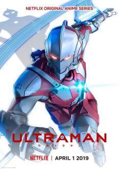 Ultraman Netflix Series Poster