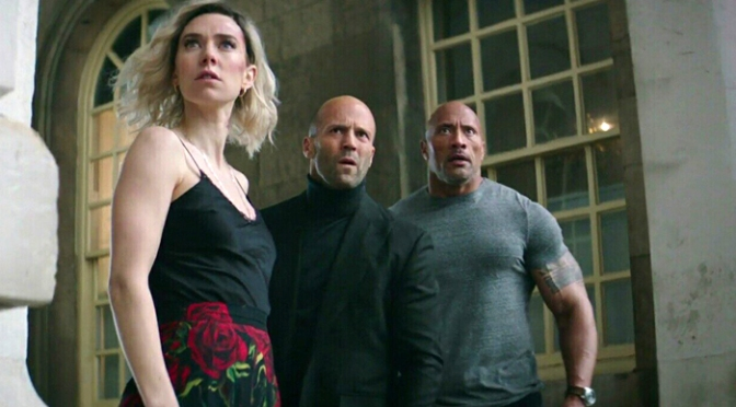 "Hobbs & Shaw: New Trailer Pits The Rock And Statham Against Idris Elba's ""Black Superman"""