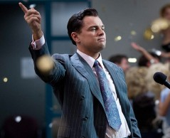 DiCaprio in his latest Scorsese collaboration, The Wolf of Wall Street (2013, Warner Bros.)