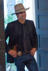 JUSTIFIED -- The Kids Aren't All Right -- Episode 502 (Airs Tuesday, January 14, 10:00 pm e/p) -- Pictured: Timothy Olyphant as Deputy U.S. Marshal Raylan Givens -- CR: Prashant Gupta/FX